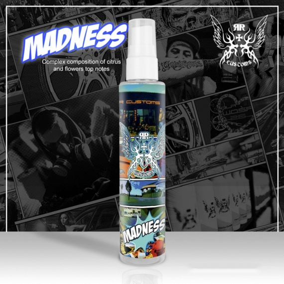 RRC Scents 100ml + Parfume pads (MADNESS)